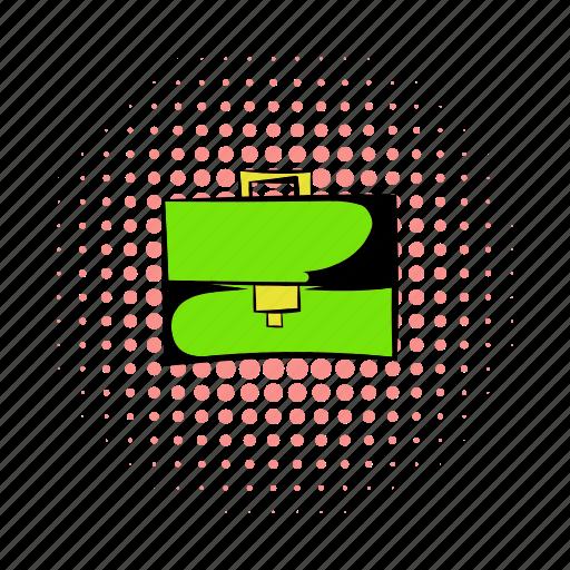 bag, brief, briefcase, business, case, comics, work icon