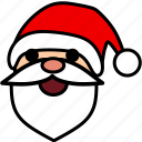 christmas, holiday, normal, santa, snow, winter, xmas icon