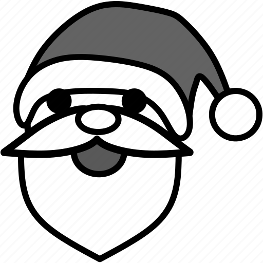 celebration, christmas, decoration, normal, santa, winter, xmas icon