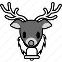 christmas, holiday, reindeer, santa, snow, winter, xmas icon