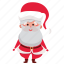 christmas, claus, happy, holiday, santa, santa claus, xmas icon