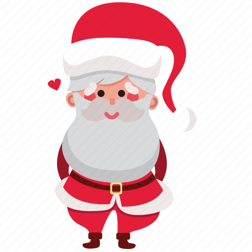 christmas, claus, holiday, love, santa, santa claus, xmas icon