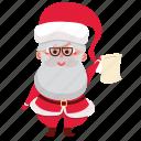 claus, christmas, santa claus, santa, holiday, xmas, present icon