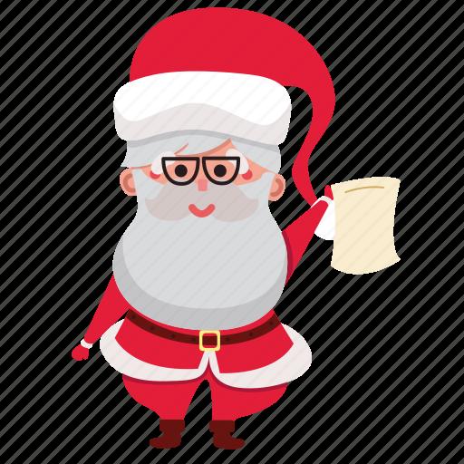 christmas, claus, holiday, present, santa, santa claus, xmas icon