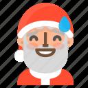 avatar, christmas, emoji, face, santa, sorry, winter icon