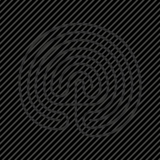 labyrinth, maze, satanism, web icon
