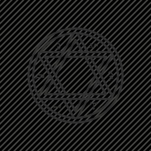 cult, evil, inverted pentagram, star icon
