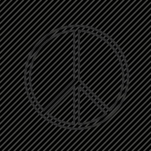 cross of nero, cult, evil symbols, peace sign icon