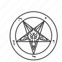 church of satan, cult, satanism, star icon