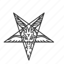 church of satan, evil symbol, satanist, star icon