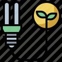 bulb, eco, electronics, fluorescent, friendly, lamp, led, light, lightbulb icon