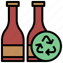 bottle, bottles, drinks, ecology, environment, recycle, recycling, tools, utensils, water