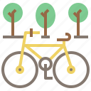 bicycle, bike, exercise, sport, sports, transport, transportation, travel, vehicle icon