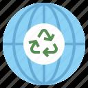 earth, ecologic, ecology, energy, green, sustainability, sustainable, wind, world icon