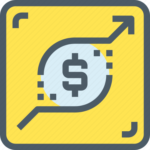 Arrow, banking, growth, investment, money, up icon - Download on Iconfinder
