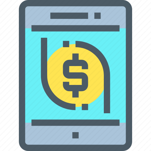 Banking, coin, finance, investment, money, smartphone icon - Download on Iconfinder