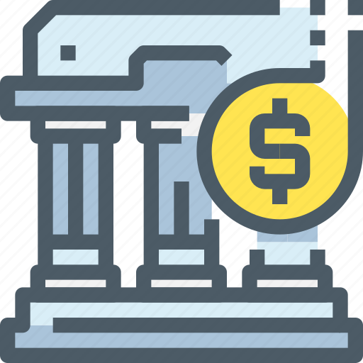 Banking, building, coin, investment, money, saving icon - Download on Iconfinder
