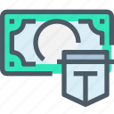 bank, banking, investment, money, secure, security icon