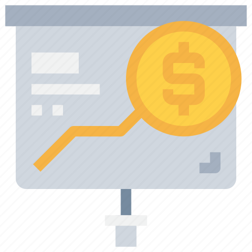 bank, buesiness, coin, finance, investment, money, report icon