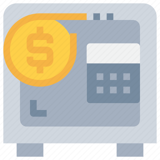 bank, coin, investment, money, safe, saving icon