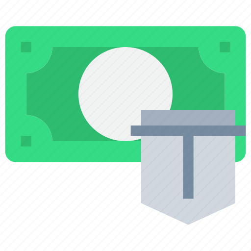 bank, business, money, secure, security icon