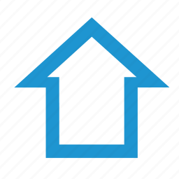 building, empty, home, house icon