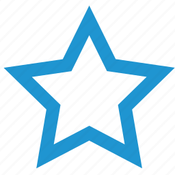 bookmark, favorite, favourite, like, rating, star icon