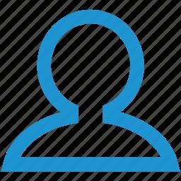 avatar, female, human, male, man, profile, user icon