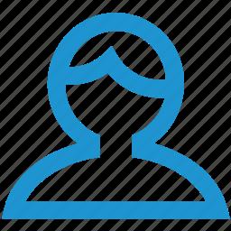 account, avatar, hair, human, man, person, user icon