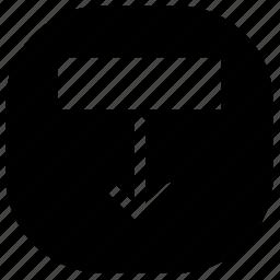 download, move icon