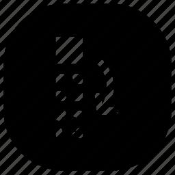 copy, move icon