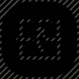 copy, duplicate, mirror icon
