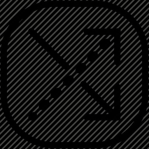 arrow, exchange, move icon