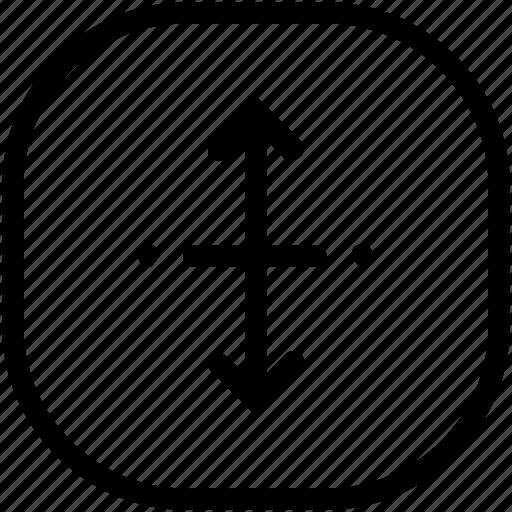 edit, expand, resize icon