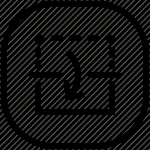 copy, duplicate, reflect icon