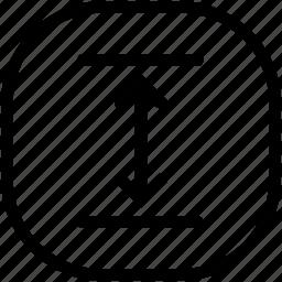 expand, resize icon