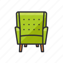 armchair, chair, furniture, scandinavian icon