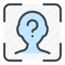 scan, face, id, question, scanner, scanning, recognition