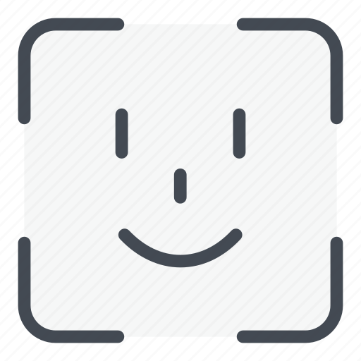 Scan, face, id, scanning, scanner, recognition icon - Download on Iconfinder