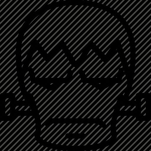 frankenstein, horror, igor, scarry icon