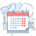 calendar, date, day, plans, schedule, time, week icon