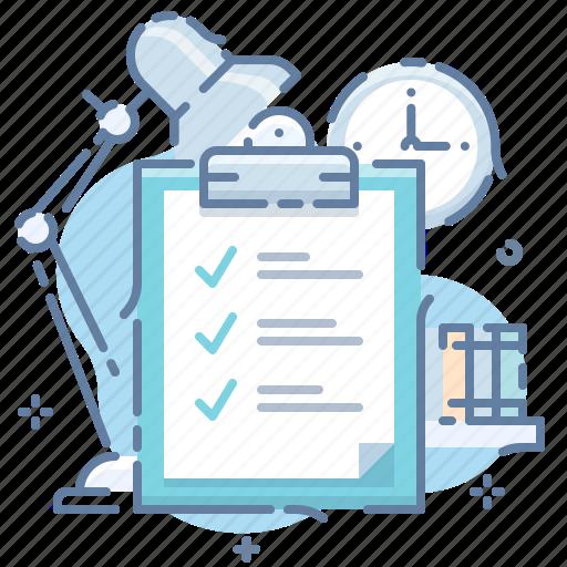 checklist, clipboard, office icon