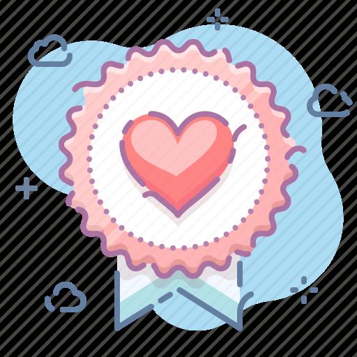 Award, badge, love icon - Download on Iconfinder