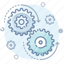gears, process icon