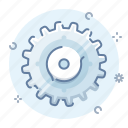 control, gear, options, process icon