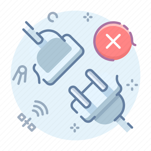 connection, disconnect, internet, offline icon