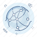 network, web icon