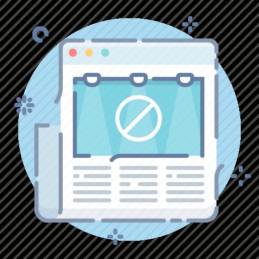 Adblock, adblocker, website icon - Download on Iconfinder