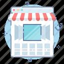 online, shop, showcase