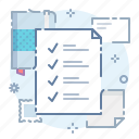 checklist, list, tasks, todo icon
